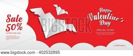 Valentine, Valentine's Day Banner, Valentines Day Flyer, Valentine's Day Sale Banner, Heart Element,