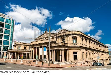 Teatro Solis, Most Important And Renowned Theatre In Montevideo, Uruguay