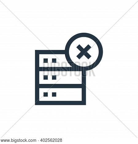 computing icon isolated on white background. computing icon thin line outline linear computing symbo