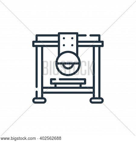 bridge saw icon isolated on white background. bridge saw icon thin line outline linear bridge saw sy