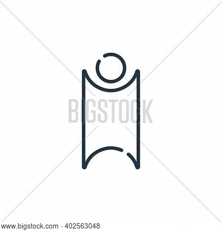 humanism icon isolated on white background. humanism icon thin line outline linear humanism symbol f