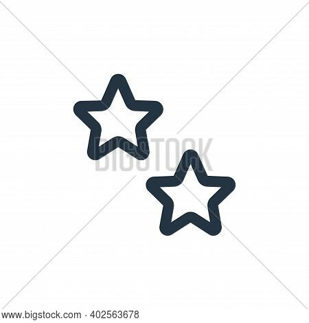 favorite icon isolated on white background. favorite icon thin line outline linear favorite symbol f