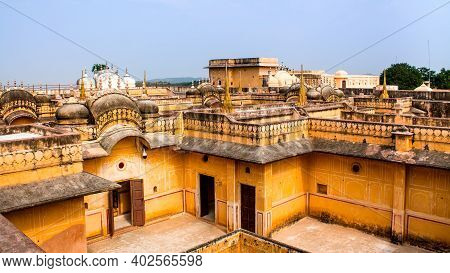 Jaipur, Rajasthan, India - 19 Oct, 2019 - Nahargarh Fort Is Located In The Pink City Of Jaipur