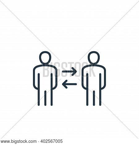 partnership icon isolated on white background. partnership icon thin line outline linear partnership