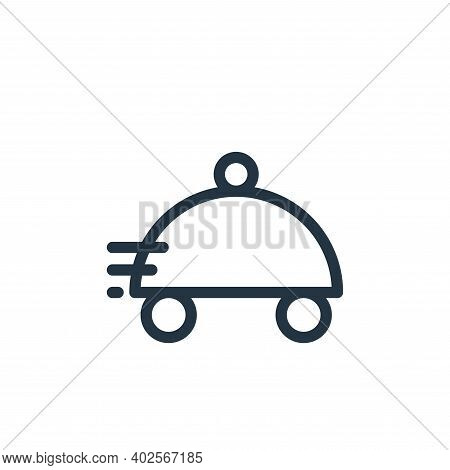 fast food icon isolated on white background. fast food icon thin line outline linear fast food symbo