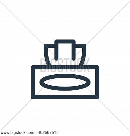 napkin icon isolated on white background. napkin icon thin line outline linear napkin symbol for log