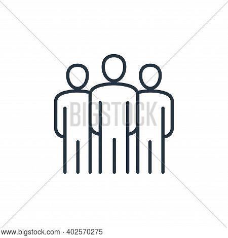 leadership icon isolated on white background. leadership icon thin line outline linear leadership sy