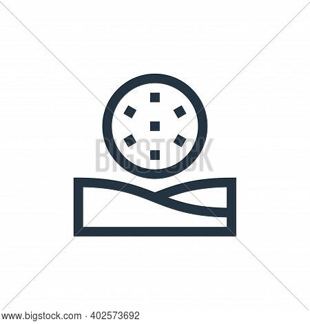 bunker icon isolated on white background. bunker icon thin line outline linear bunker symbol for log