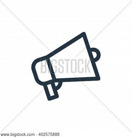 promotion icon isolated on white background. promotion icon thin line outline linear promotion symbo