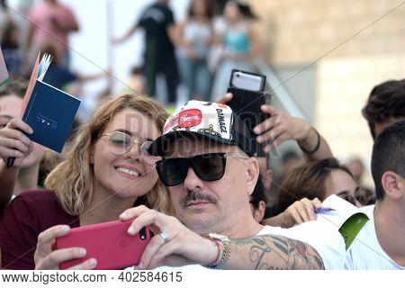 Giffoni Valle Piana, Sa, Italy - July 21, 2019 : Don Joe At Giffoni Film Festival 2019 - On July 21,