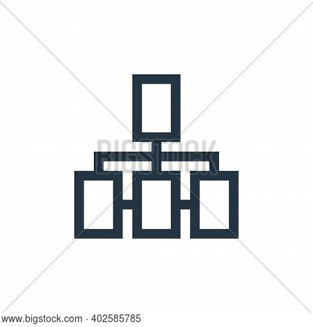 connection icon isolated on white background. connection icon thin line outline linear connection sy