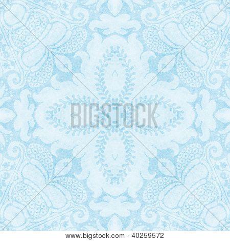 Vintage Light Blue Tapestry