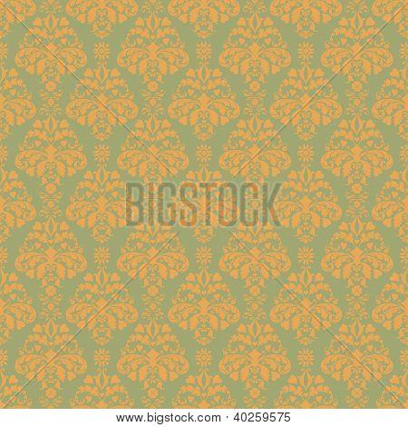 Seamless Soft Damask Pattern