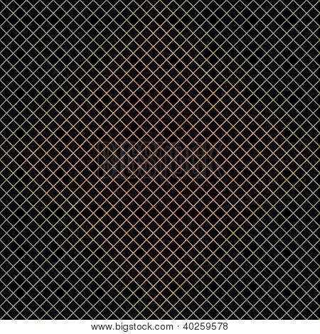 Dark Colorful Grid Background