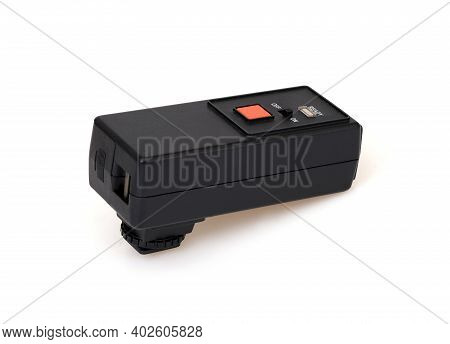 Infrared Synchronizer For Photographic Equipment Isolated On White Background