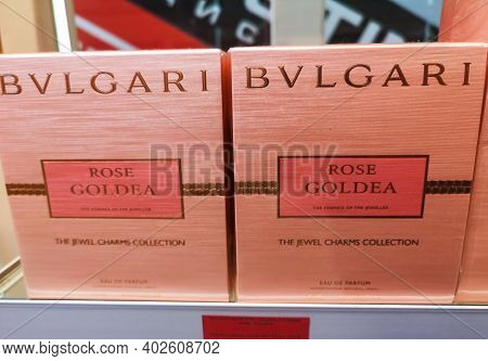 Perfume For Women Rose Goldea Bvlgari Based On Natural Ingredients With Aromas Of White Musk And Pas