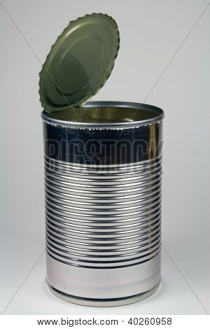 Empty Steel Can