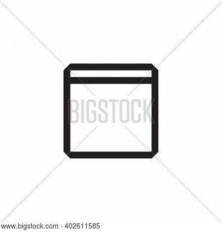 Document Icon Isolated On White Background From Working In The Office Collection. Document Icon Tren