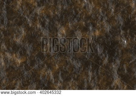 Nice Orange Moist Wild Stone Digitally Drawn Background Illustration