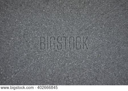 Polished Grey Textured Granite For The Background.