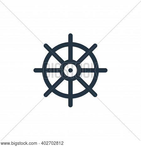 buddhism icon isolated on white background. buddhism icon thin line outline linear buddhism symbol f