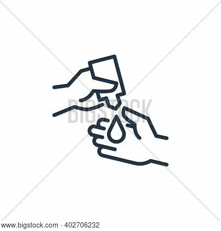 cleaning liquid icon isolated on white background. cleaning liquid icon thin line outline linear cle