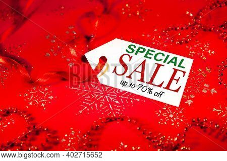 Sale,  Special Sale,  70 Percent,  New Year Discounts,  Seasonal Christmas Sale.,  Seasonal Discount