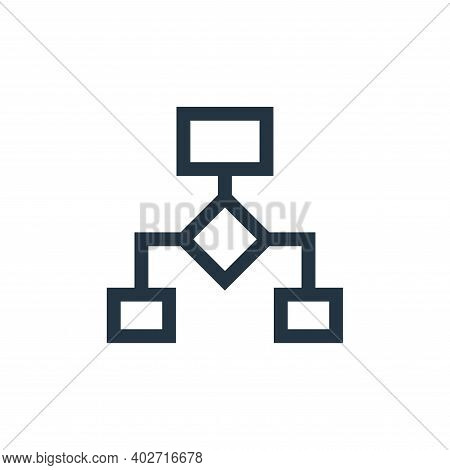 data flow icon isolated on white background. data flow icon thin line outline linear data flow symbo