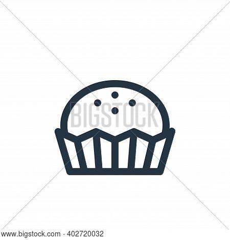 bonbon icon isolated on white background. bonbon icon thin line outline linear bonbon symbol for log