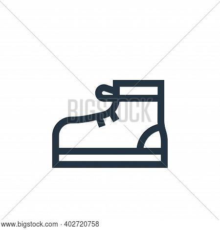 sport shoe icon isolated on white background. sport shoe icon thin line outline linear sport shoe sy