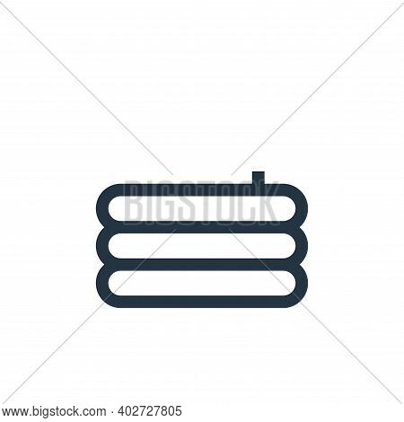 inflatable pool icon isolated on white background. inflatable pool icon thin line outline linear inf