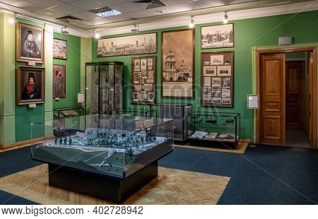 Museum Exhibits Inside The Museum Of The St. Michaels Golden-domed Monastery Complex - Kyiv, Ukraine