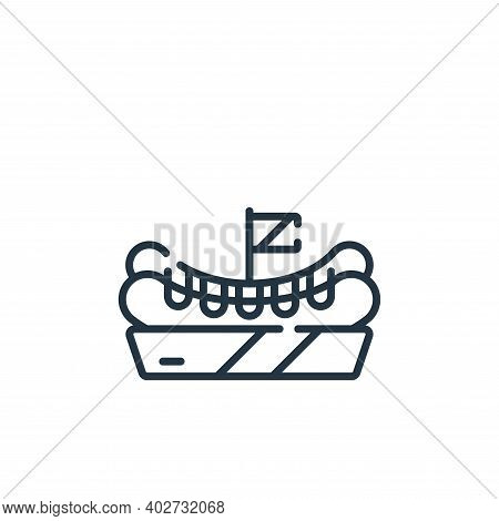 hot dog icon isolated on white background. hot dog icon thin line outline linear hot dog symbol for