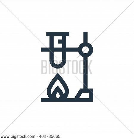 lab icon isolated on white background. lab icon thin line outline linear lab symbol for logo, web, a