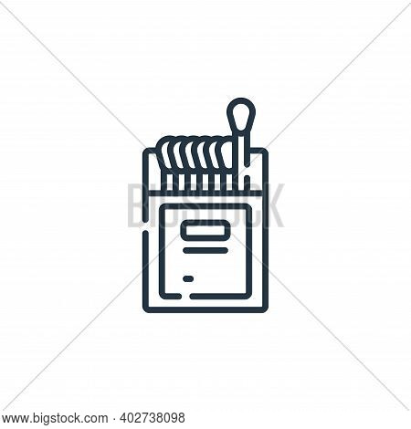 matches icon isolated on white background. matches icon thin line outline linear matches symbol for