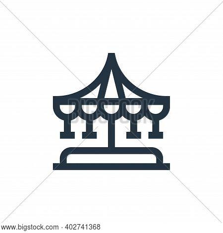 carousel icon isolated on white background. carousel icon thin line outline linear carousel symbol f