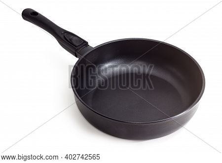 Modern Empty Cast Frying Pan, Made Of Aluminum Alloy With Ceramic Non-stick Coating And Removable Ha