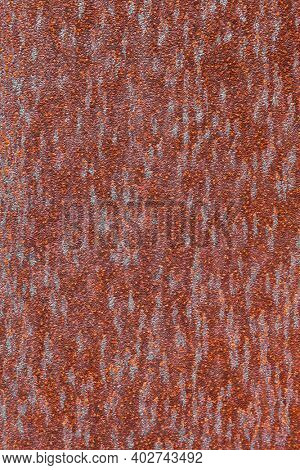 Close up shot of rusty metal for background use