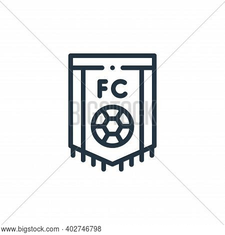 soccer icon isolated on white background. soccer icon thin line outline linear soccer symbol for log