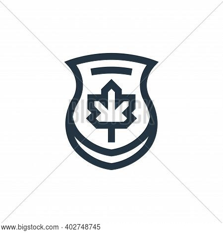 maple icon isolated on white background. maple icon thin line outline linear maple symbol for logo,
