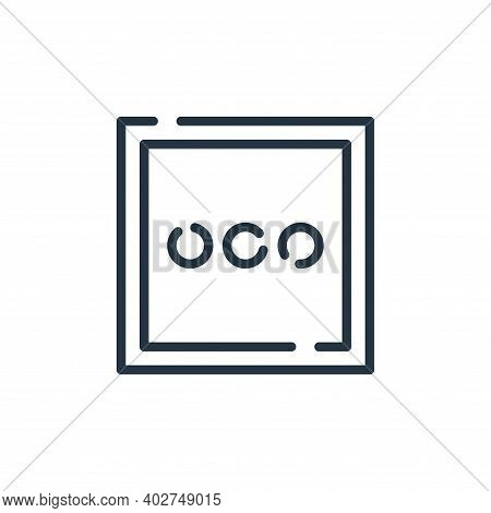 more icon isolated on white background. more icon thin line outline linear more symbol for logo, web