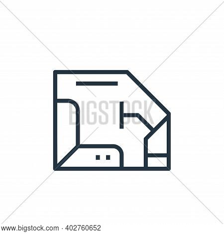 interior icon isolated on white background. interior icon thin line outline linear interior symbol f