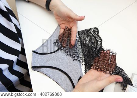 Sewing Underwear Process.