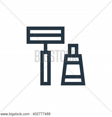 shaver icon isolated on white background. shaver icon thin line outline linear shaver symbol for log