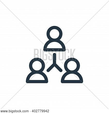 teamwork icon isolated on white background. teamwork icon thin line outline linear teamwork symbol f