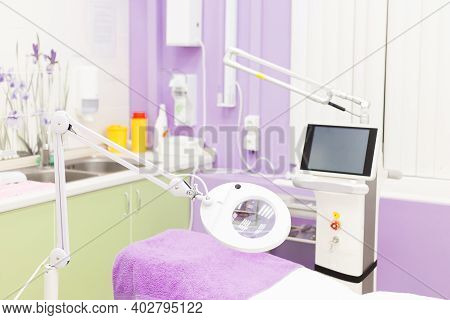 Medical Equipment For Cosmetology. Equipment For Laser Cosmetology. Medical Office