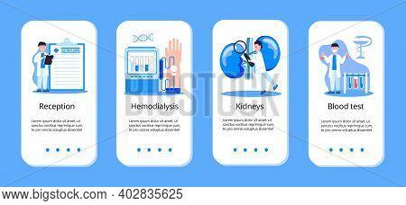 Concept App Of Pyelonephritis, Diseases And Kidney Stones, Cystitis, Urolithiasis, Nephropathy, Rena