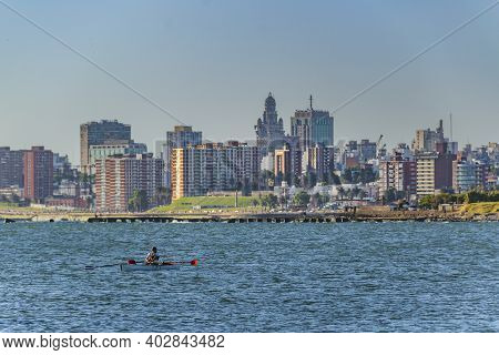 River Plate River, Montevideo, Uruguay