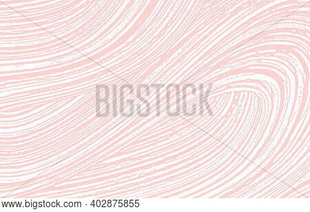 Grunge Texture. Distress Pink Rough Trace. Fascinating Background. Noise Dirty Grunge Texture. Actua