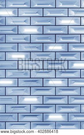 Exterior Of Modern Architecture. Building Abstract Background Pattern